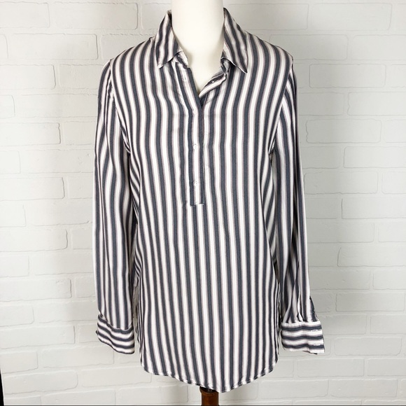 5fd8676c Philosophy Tops | Striped Hilo Tunic Blouse Top Size M | Poshmark